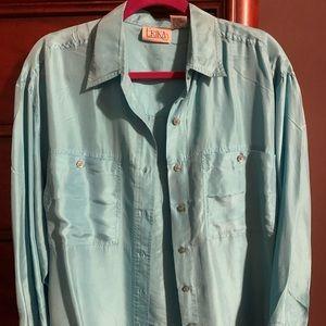 Silk Button Down Shirt for Women